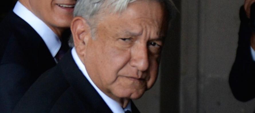 El 4 de octubre, López Obrador aseguró que si Felipe Calderón Hinojosa no...