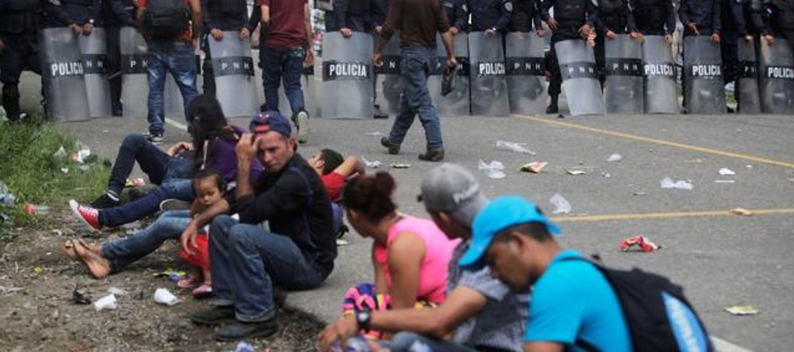 """El ministerio de Seguridad hondureño dijo que el activista fue arrestado porque """"no..."""