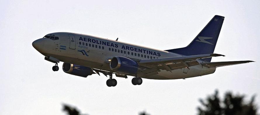 Heridos leves en un vuelo de Aerolíneas por turbulencia