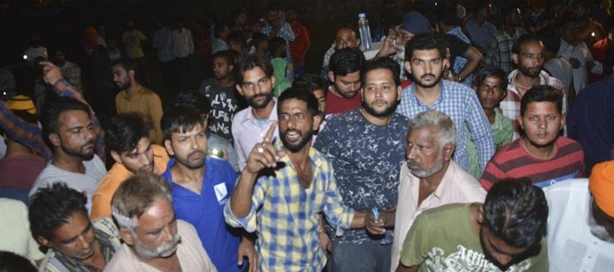 Pratap Singh Bajwa dijo que las víctimas observaban un despliegue de fuegos artificiales con...