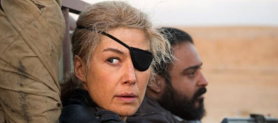 "Filme ""A Private War"" viaja al frente de guerra para contar historia de reportera Marie Colvin"
