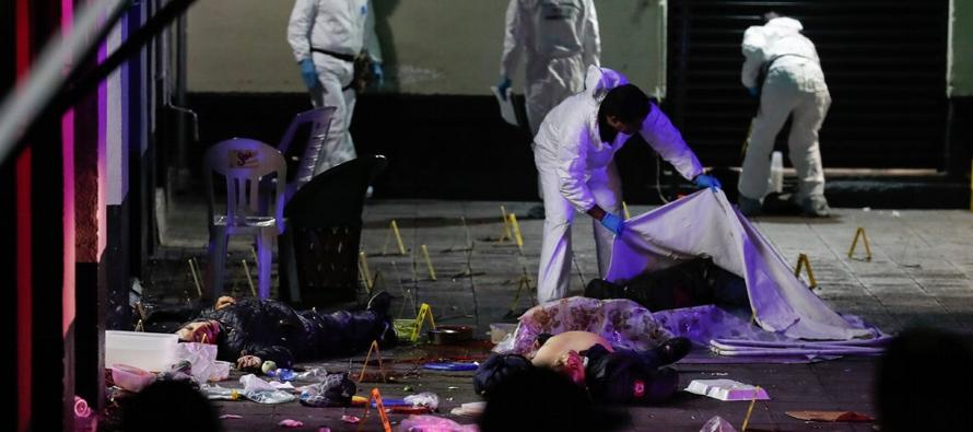En el último sexenio, los homicidios en Ciudad de México han aumentado casi un 40 por...
