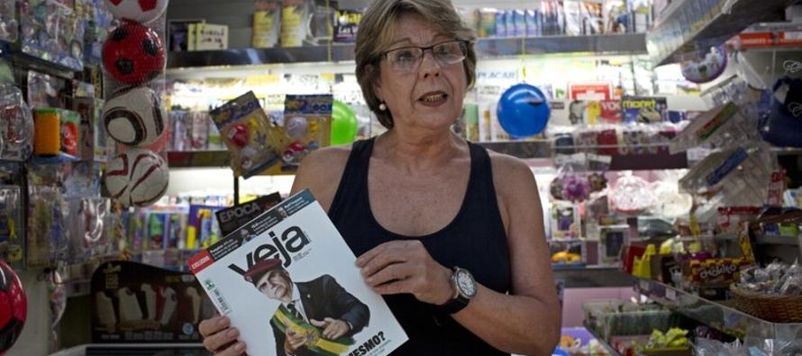 """Brasil: Muchos votarán por """"el menor de dos males"""""""