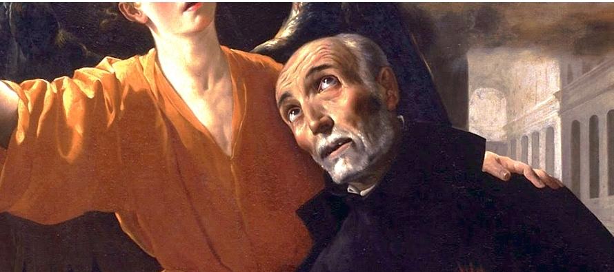 Este santo portero del convento mallorquino de Montesión de los padres jesuitas,...