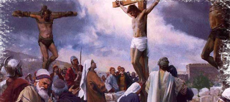 «¿Es que no temes a Dios, tú que sufres la misma condena? Y nosotros con...