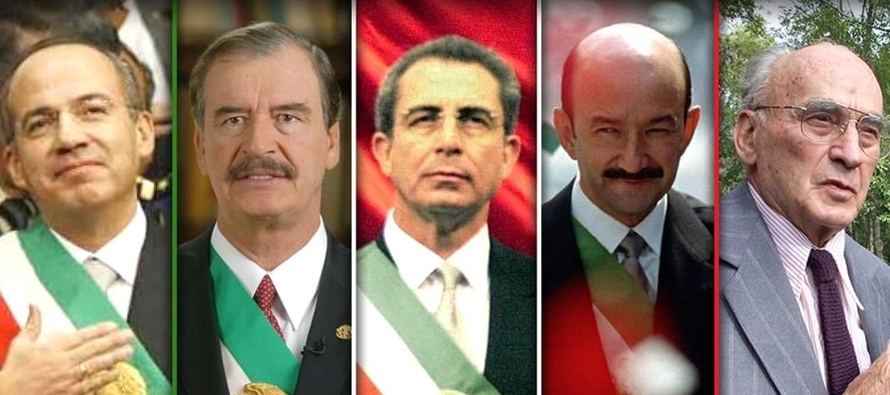 Con ésta, los expresidentes de México dejarán de recibir pensiones y...