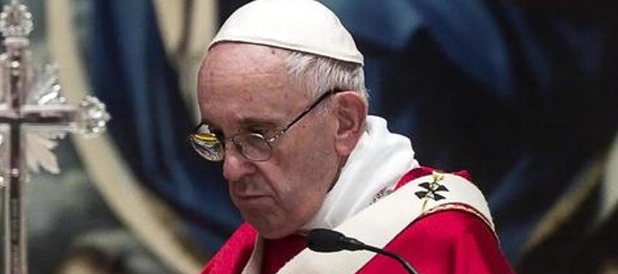 """El papa habló también de los gobiernos dictatoriales: """"¿Qué hace..."""