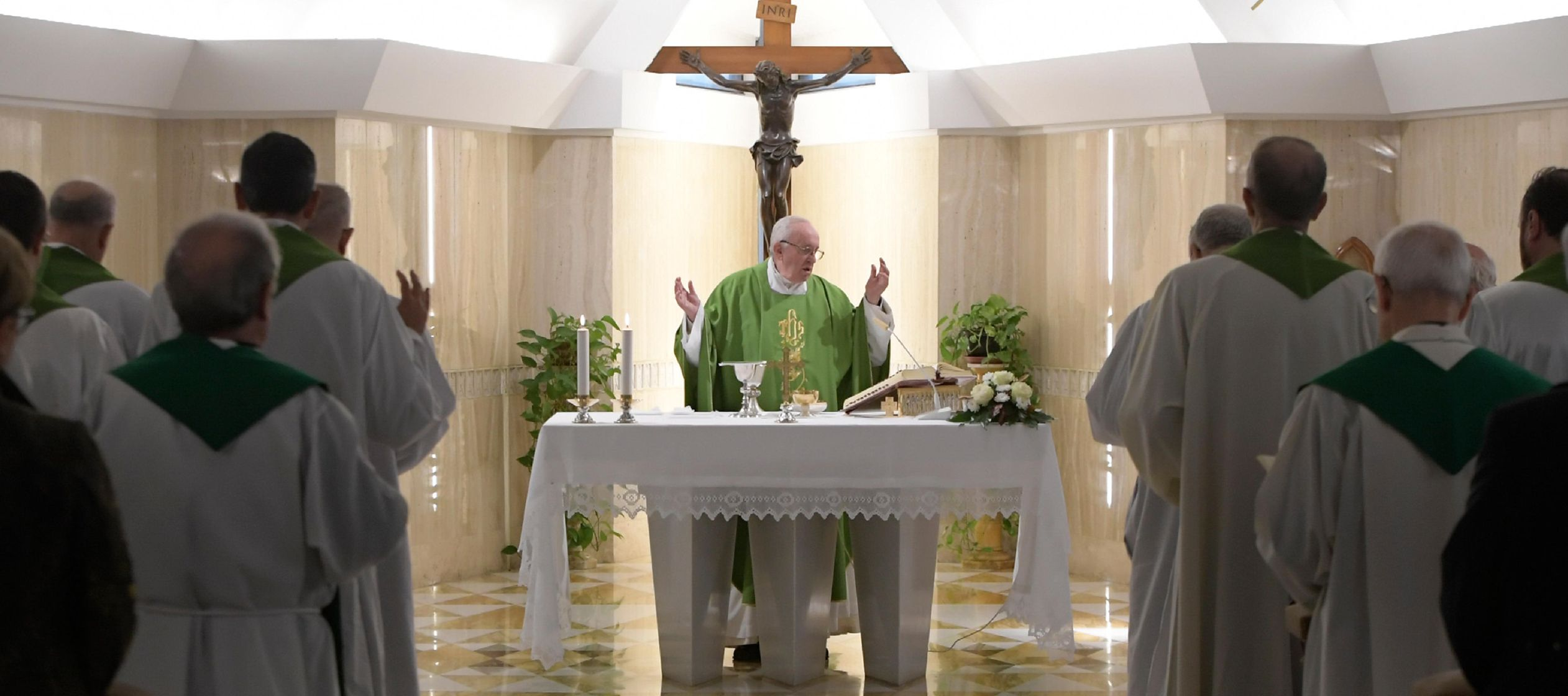 """""""Es algo nuevo"""", ha afirmado el Papa, """"pero no tan nuevo porque la misericordia de..."""