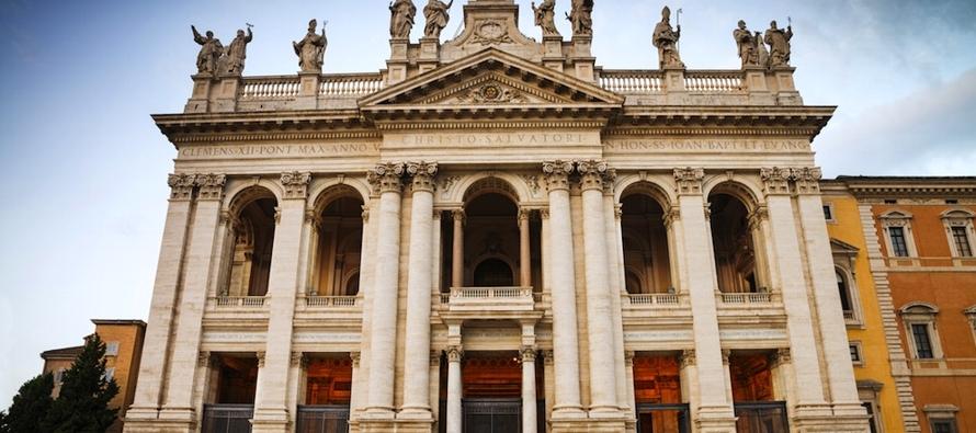 """""""Esta Basílica fue la primera en ser construida después del edicto del emperador..."""