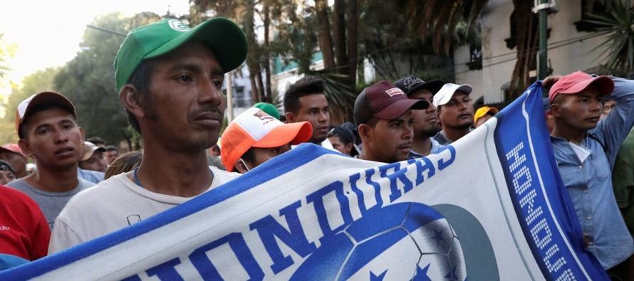 """Muchas de las personas que migran hoy en Centroamérica y México huyen de """"la..."""
