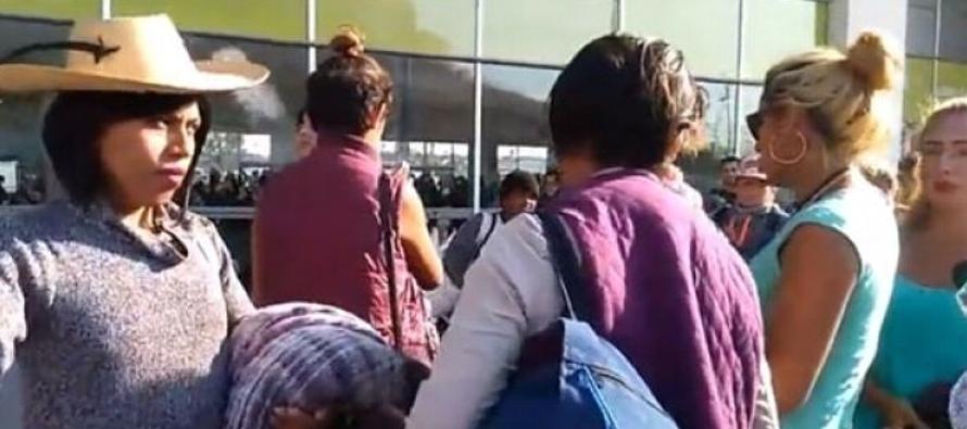 Llegan primeros migrantes a Tijuana
