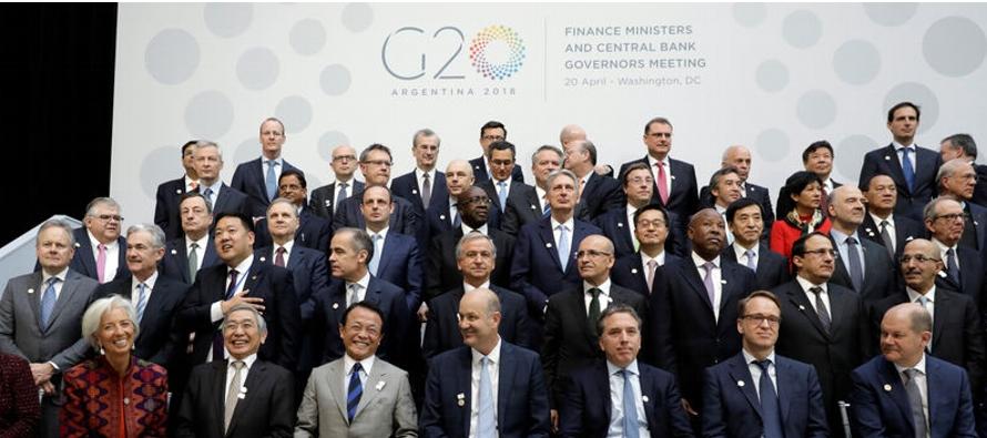 Funcionarios de algunos países del G-20, deseosos de ver un rápido final de la guerra...