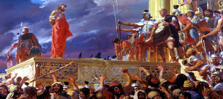 Si mi Reino fuese de este mundo, mi gente habría combatido para que no fuese entregado a los...