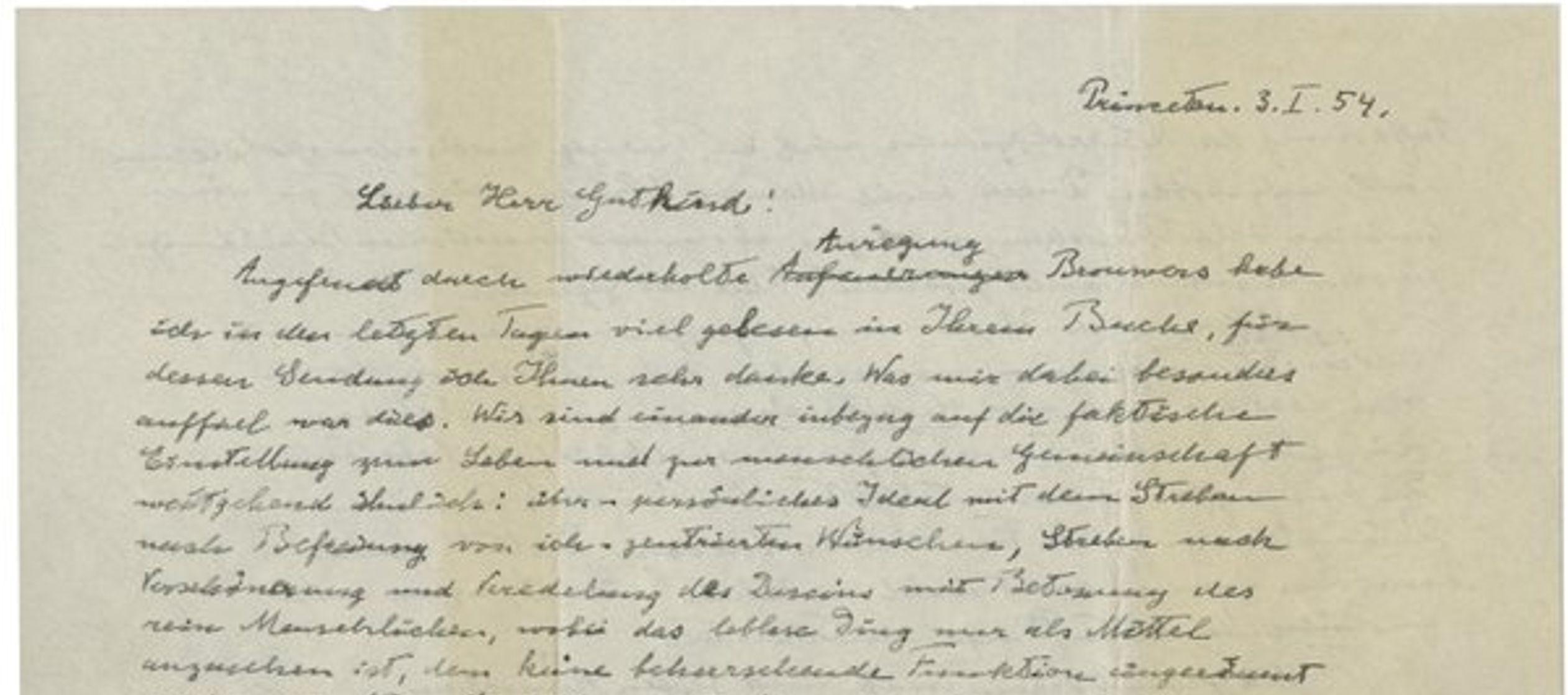 Sotheby's se aprestaba a subastar el viernes una Biblia en la que Einstein escribió en...