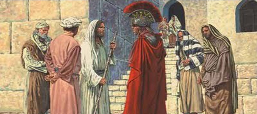 Jesús quedó admirado y dijo a los que le seguían: «Os aseguro que en...
