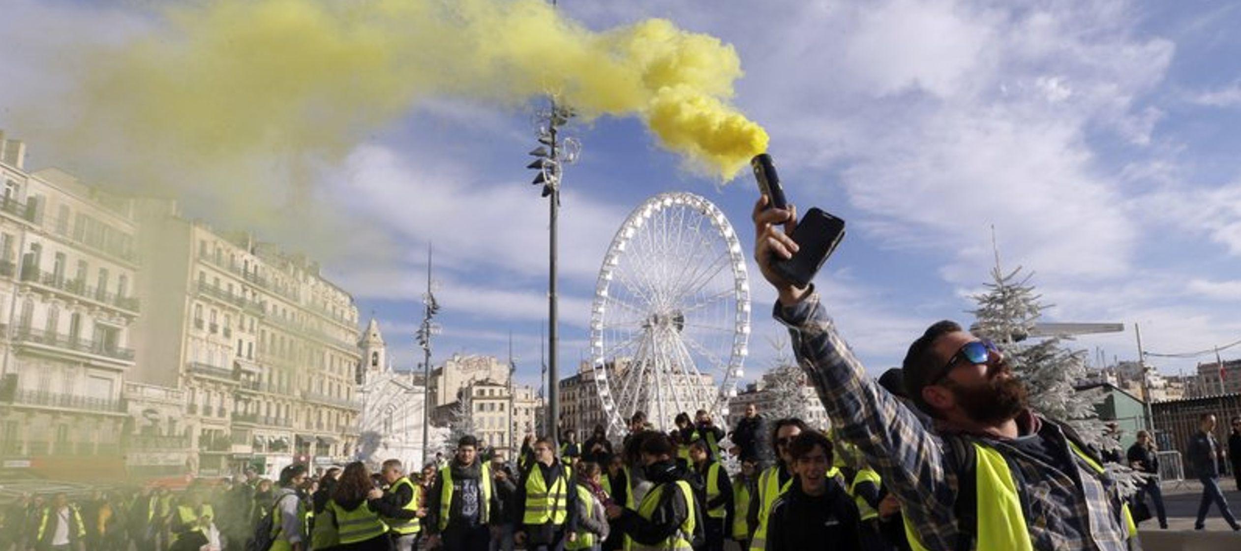 Es poco probable que la dura retórica del impopular presidente Emmanuel Macron, quien ha...