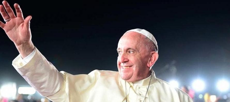 El Vaticano dijo el jueves que Francisco participará de una reunión interconfesional...
