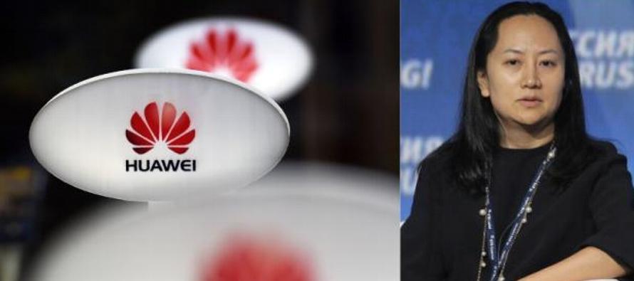 El impactante arresto de Meng, de 46 años, quien es la directora financiera de Huawei...