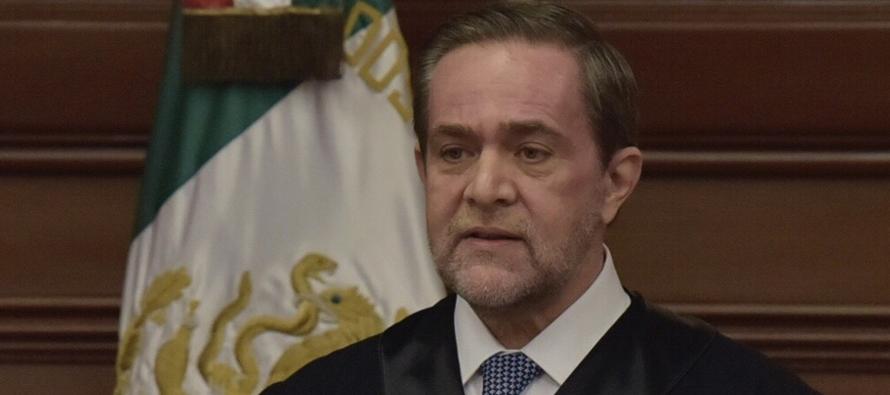 """""""No caer en provocaciones"""", pide a jueces el ministro Pardo Rebolledo"""
