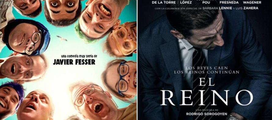 """""""El Reino"""" y """"Campeones"""", películas favoritas para los Premios Goya de España"""