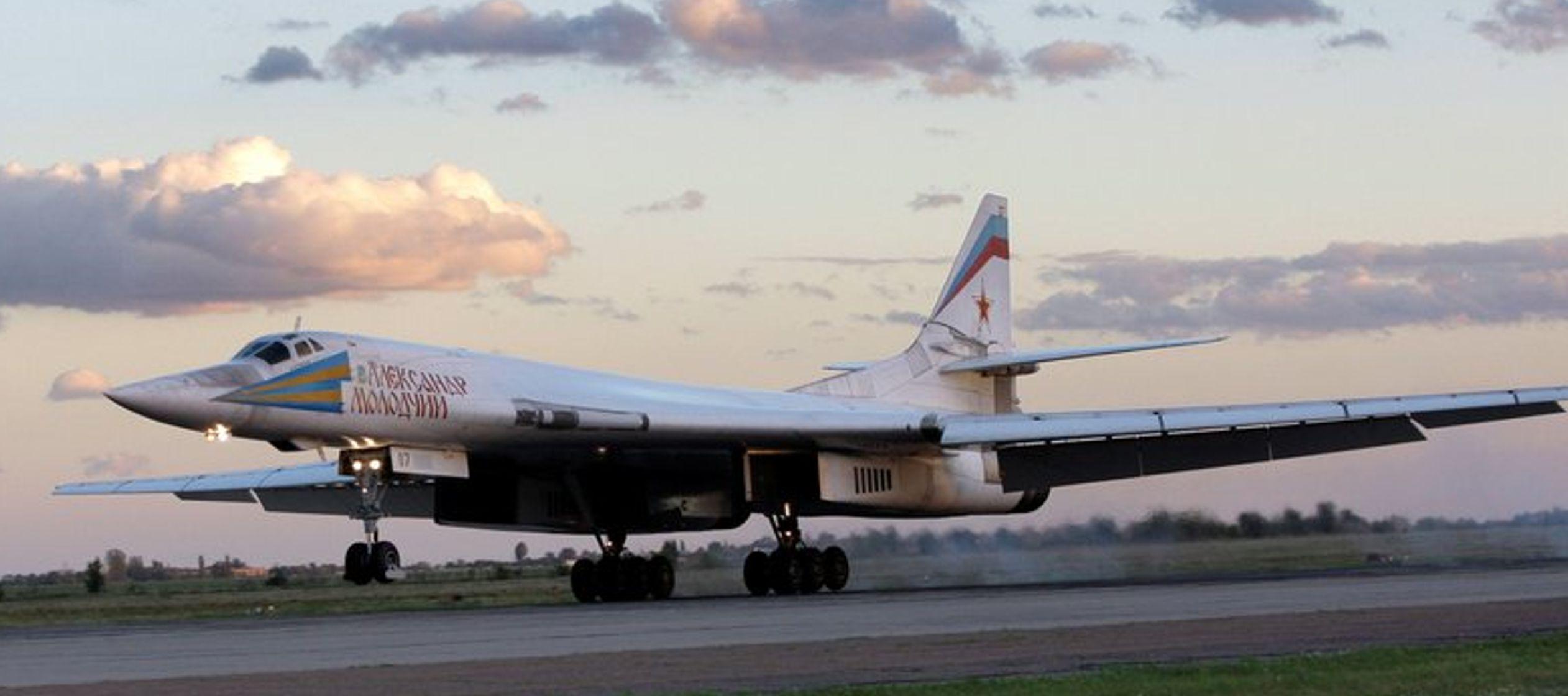 Bombarderos rusos vuelan sobre el Caribe