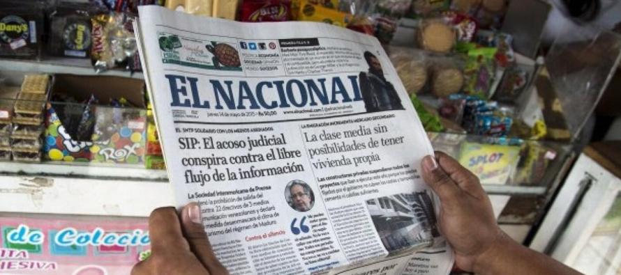 El Periodico De Mexico Noticias De Mexico Internacional Politica Diario El Nacional De Venezuela Anuncia Fin De Edicion Impresa