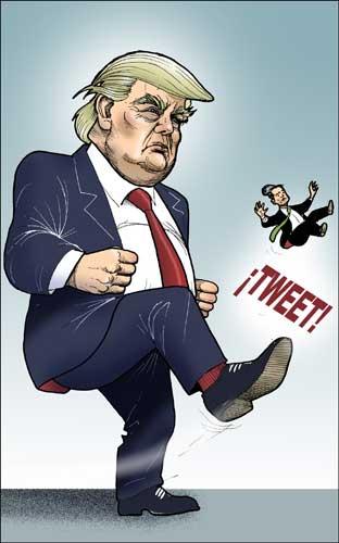 La diplomacia de Trump