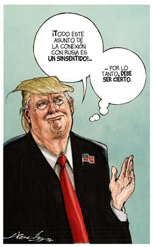 El sello Trump