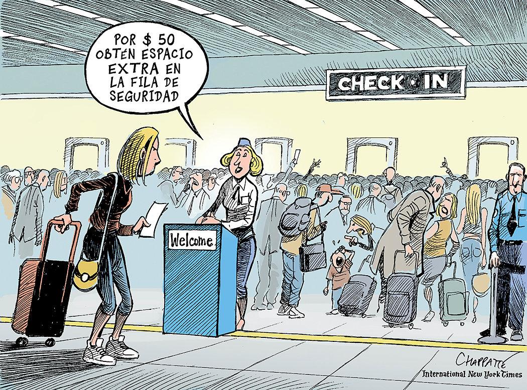 La dictadura del aeropuerto