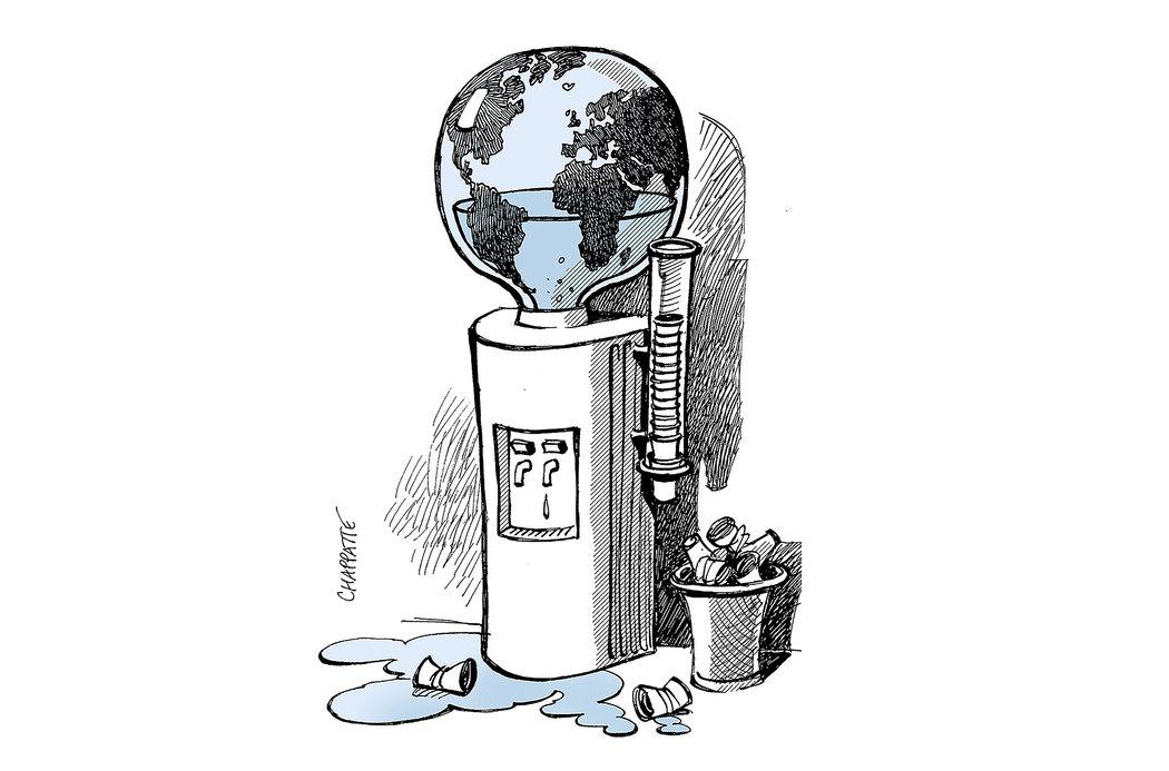 Un planeta sediento