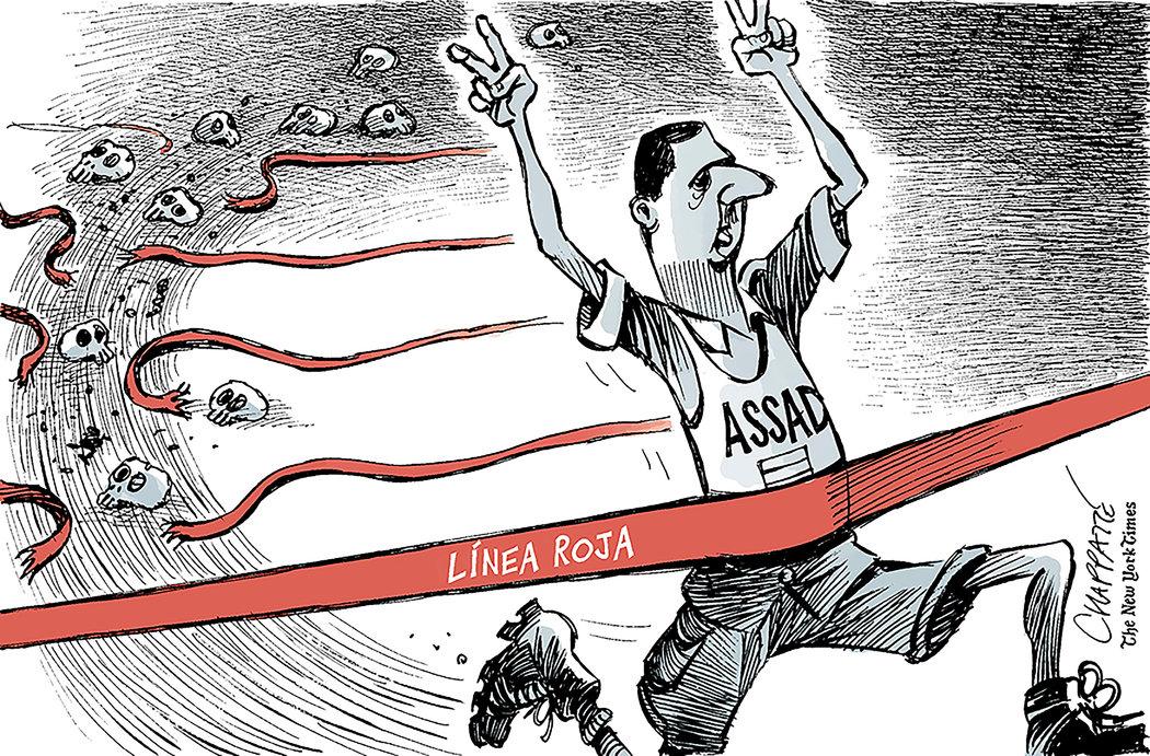 Asad cruza todos los límites en su carrera hacia la devastación en Siria