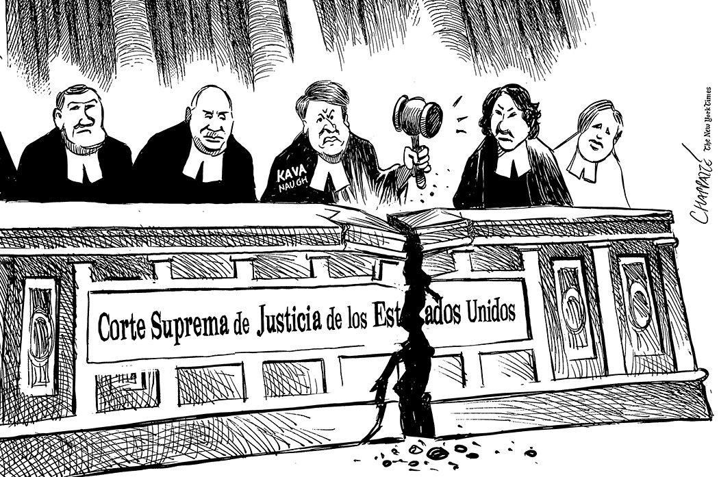 Rabia en la Corte Suprema de Estados Unidos