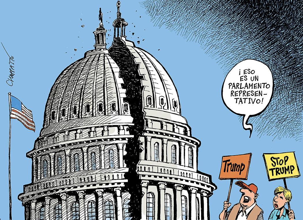 Un Congreso fiel al Estados Unidos de hoy
