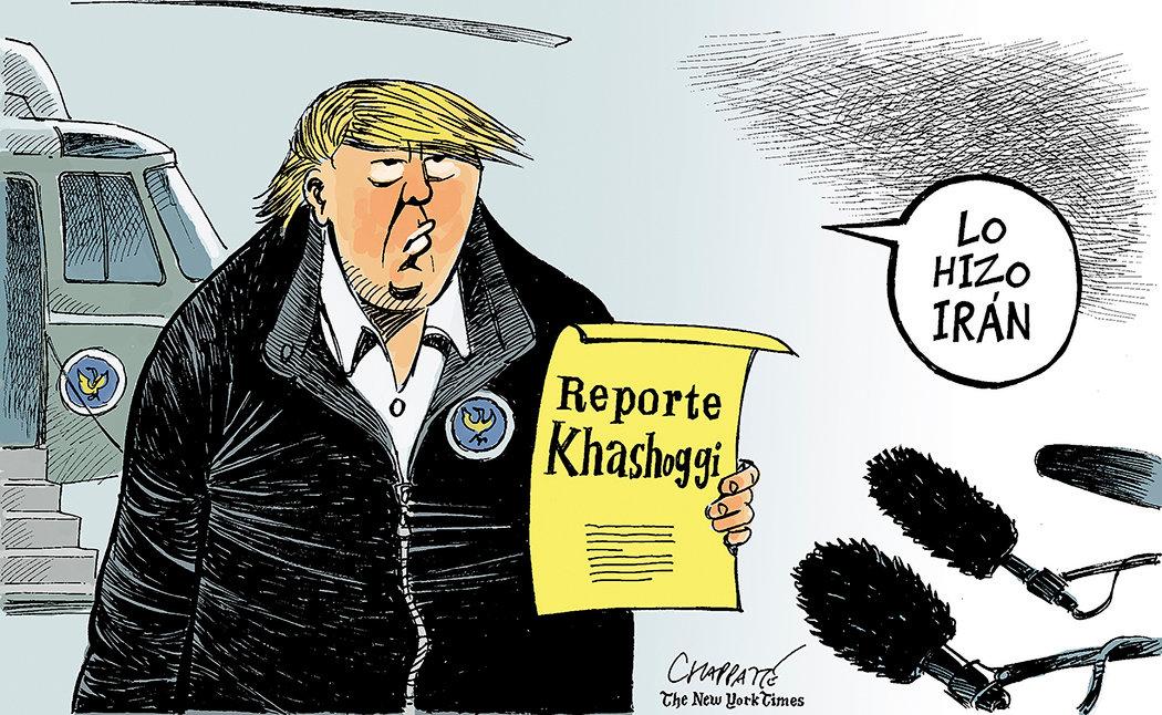El veredicto de Donald Trump sobre Jamal Khashoggi