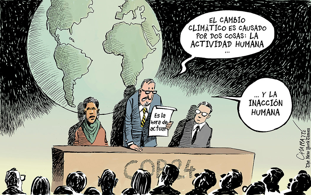 Dos verdades sobre el cambio climático