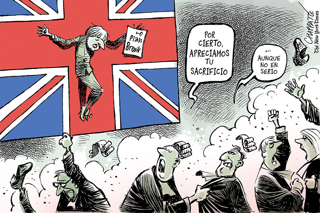 La cruz de Theresa May