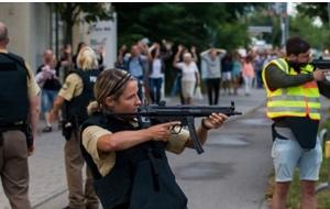 Las autoridades alemanas activaron la alerta antiterrorista en Múnich, tras un tiroteo en un centro comercial.  Implica  la capacidad de disponer de los efectivos de todos los cuerpos policiales, incluido el cuerpo de elite GSG-9.