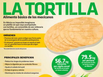 Las tortillas mexicanas son de Madrid