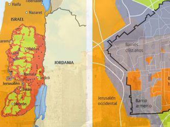 El problema Jerusalén: Cómo ha cambiado el mapa del Oriente Medio