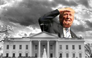 Trump lleva el caos a la Casa Blanca