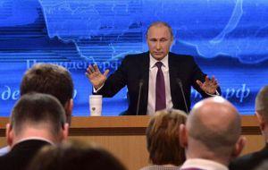 El circo televisivo de Putin pierde credibilidad